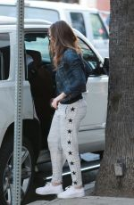 JESSICA BIEL Out and About in Studio City 11/20/2015