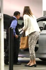 JESSICA BIEL Out and About in West Hollywood 11/19/2015