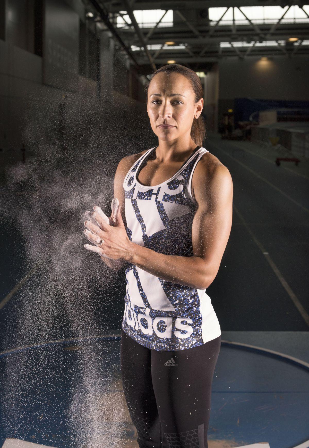 JESSICA ENNIS-HILL - English Institute of Sport Photoshoot