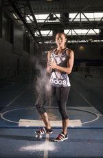 JESSICA ENNIS-HILL - English Institute of Sport Photoshoot