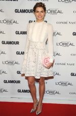 JESSICA HART at Glamour's 25th Anniversary Women of the Year Awards in New York 11/09/2015