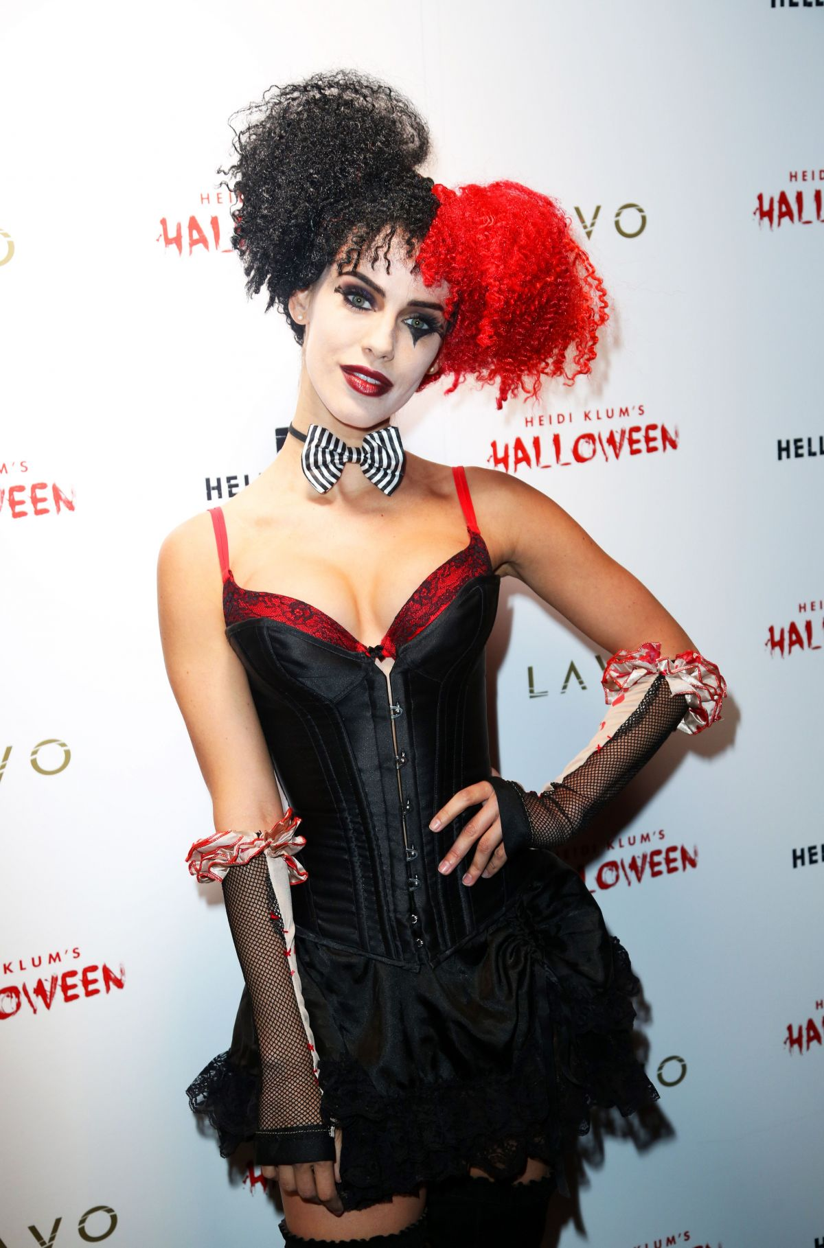 JESSICA LOWNDES at Heidi Klum Halloween Party in New York 10/31 ...