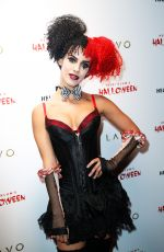 JESSICA LOWNDES at Heidi Klum Halloween Party in New York 10/31/2015