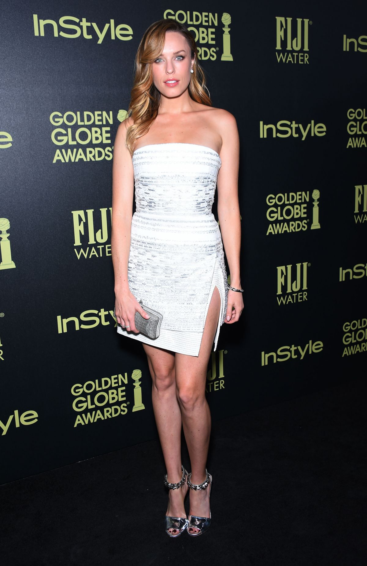JESSICA MCNAMEE at hfpa and Instyle Celebrate 2016 Golden Globe Award Season in West Hollywood 11/17/2015