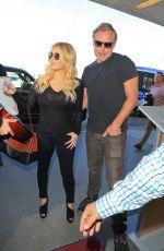 JESSICA SIMSPON at Los Angeles International Airport 11/06/2015