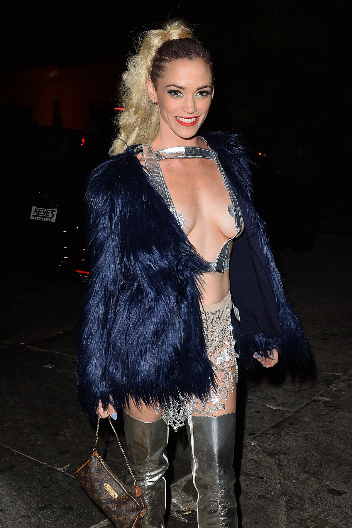 JESSICA SUTTA at Just Jared Halloween Party in Hollywood 10/31 ...