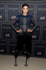 JESSICA SZOHR at Balmain x H&M Los Angeles VIP Pre-launch in West Hollywood 11/04/2015