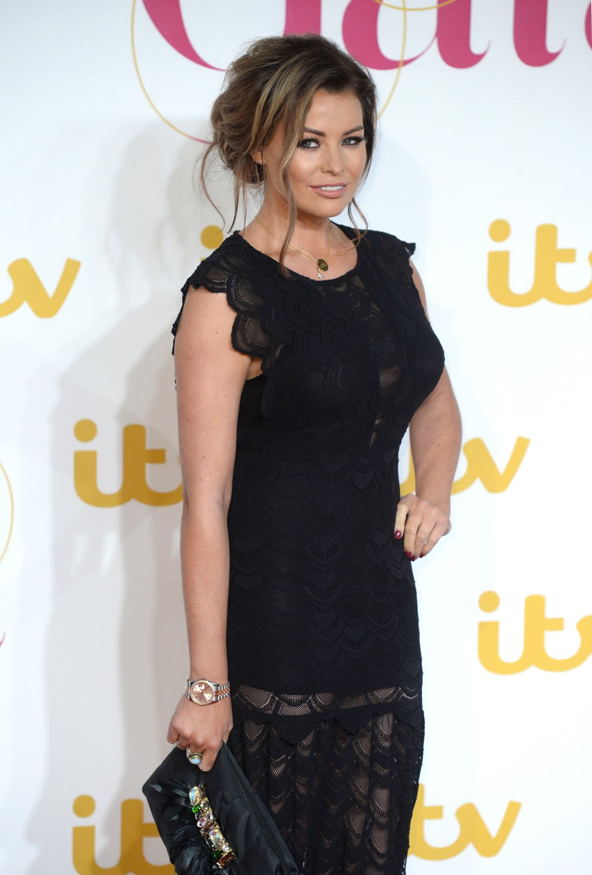 JESSICA WRIGHT at ITV 60th Anniversary Gala in London 11/19/2015