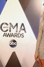 JEWEL KILCHER at 49th Annual CMA Awards in Nashville 11/04/2015