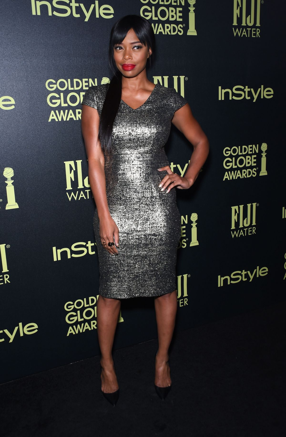 JILL MARIE JONES at hfpa and Instyle Celebrate 2016 Golden Globe Award Season in West Hollywood 11/17/2015