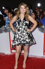 JILLIAN BELL at The Night Before Premiere in Los Angeles 11/18/2015