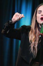 JOANNA JOJO LEVSQUE Performs at Q102 Theater in Philadelphia 11/04/2015