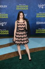 JOEY KING at The Good Dinosaur Premiere in Hollywood 11/17/2015