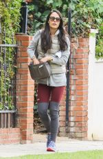 JORDANA BREWSTER Out and About in Beverly Hills 11/09/2015