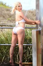 JORGIE PORTER in Bikini on the Set of a Photoshoot in Australia