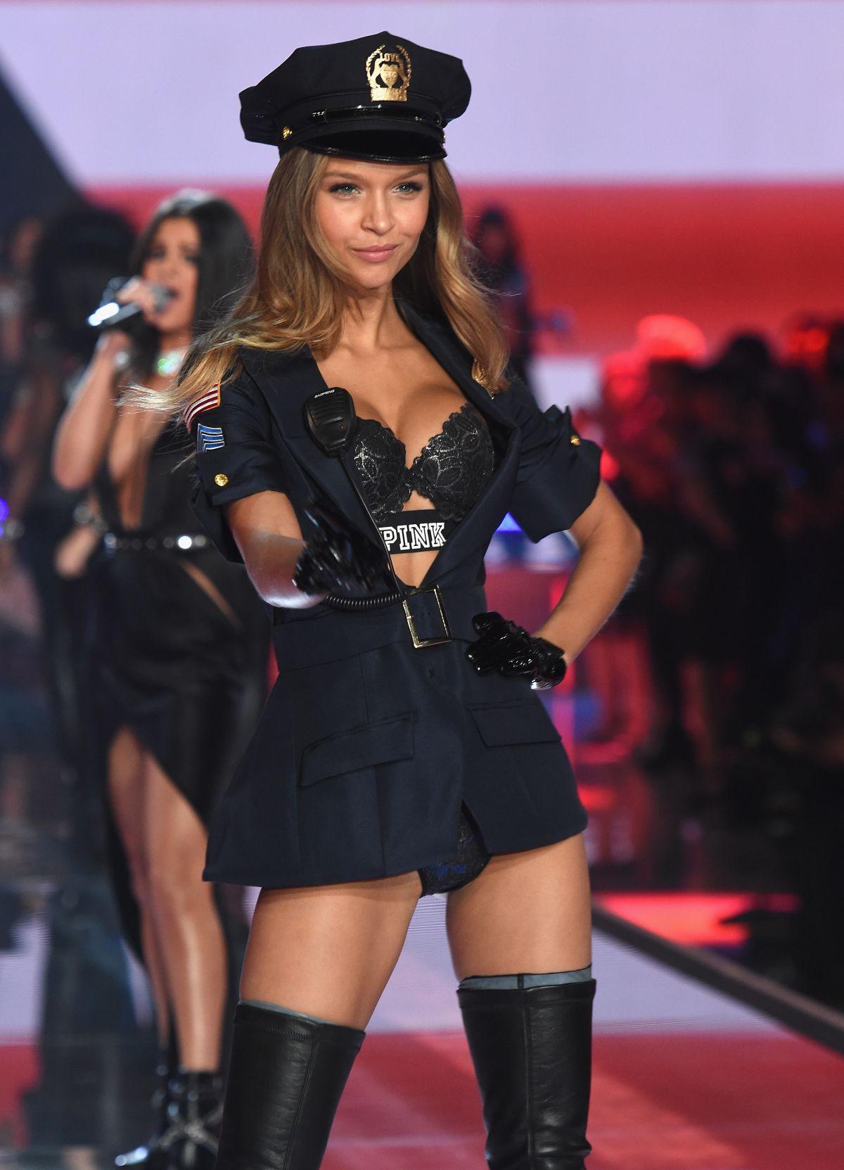 JOSEPHINE SKRIVER at Victoria's Secret 2015 Fashion Show in New York 11/10/2015