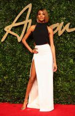 JOURDAN DUNN at 2015 British Fashion Awards in London 11/23/2015