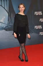 JULIA DIETZE at Bridge of Spies Premiere at Zoo Palast in Berlin 11/13/2015