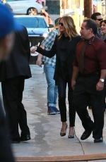 JULIA ROBERTS Arrives at Jimmy Kimmel Live in Hollywood 11/12/2015