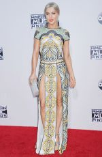 JULIANNE HOUGH at 2015 American Music Awards in Los Angeles 11/22/2015