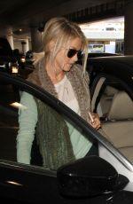 JULIANNE HOUGH at Los Angeles International Airport 10/30/2015