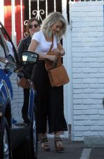 JULIANNE HOUGH Leaves DWTS Rehesal in Los Angeles 11/19/2015