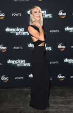 JULIANNE HOUGH on the Set of Dancing With The Stars Show 11/16/2015