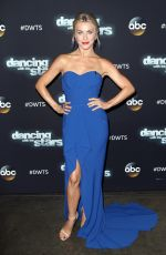 JULIANNE HOUGH one the Set of Dancing With The Stars in Los Angeles 11/02/2015