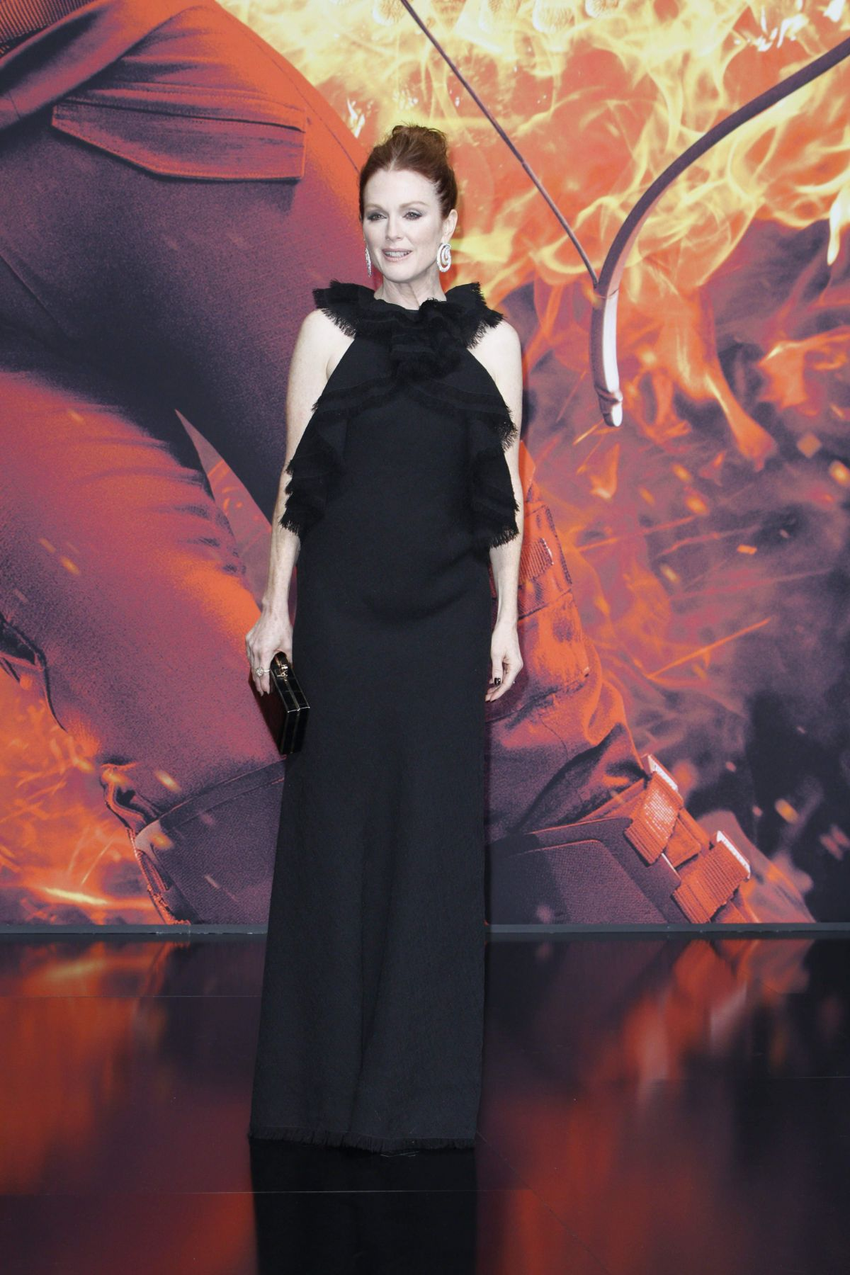 JULIANNE MOORE at The Hunger Games: Mockingjay, Part 2 Premiere in Berlin 11/04/2015