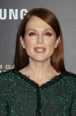 JULIANNE MOORE at The Hunger Games: Mockingjay, Part 2 Premiere in New Yrok 11/18/2015