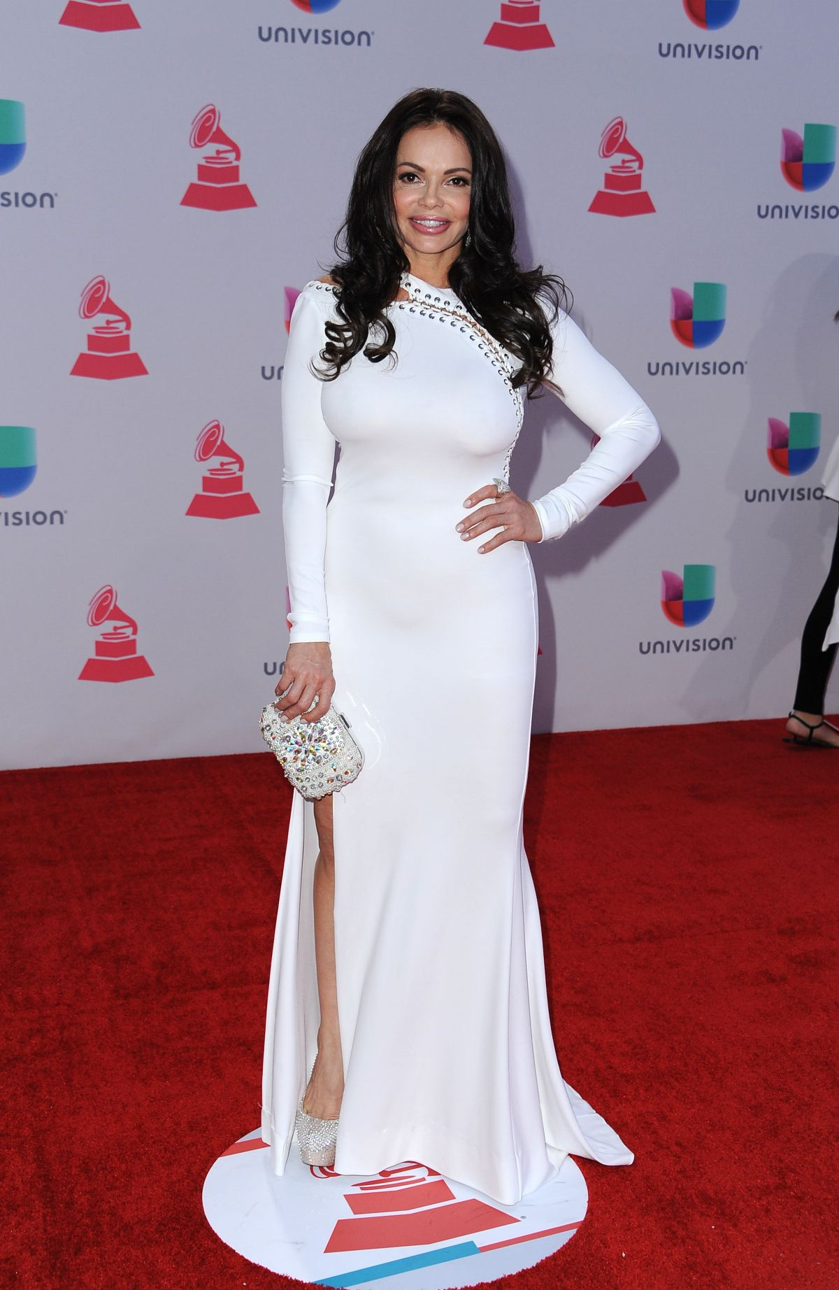 JULIE FERRETTI at 2015 Latin Grammy Awards in Las Vegas 11/18/2015
