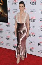 JULIETTE BINOCHE at 33 Premiere at 2015 AFI Fest in Hollywood 11/09/2015