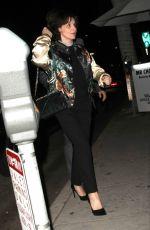 JULIETTE BINOCHE at Mr Chow Restaurant in Beverly Hills 11/10/2015