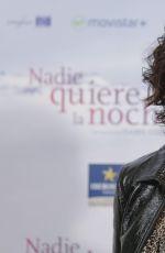 JULIETTE BINOCHE at Nadie Quiere La Noche Photocall 11/02/2015