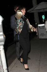 JULIETTE BINOCHE Leaves Mr.Chow Restaurant in Beverly Hills 11/10/2015