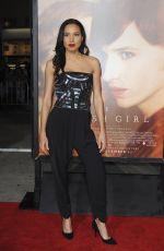 JURNEE SMOLLET at The Danish Girl Premiere in Westwood 11/21/2015