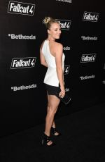 KALEY CUOCO at Fallout 4 Video Game Launch Event in Los Angeles 11/05/2015