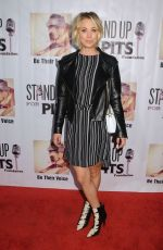 KALEY CUOCO at Stand Up for Pits Comedy Benefit in Hollywood 11/08/2015