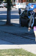 KALEY CUOCO in Shorts Out in Los Angeles 11/16/2015