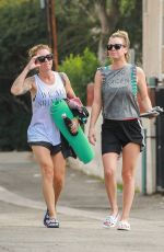 KALEY CUOCO Out and About in Los Angeles 11/09/2015