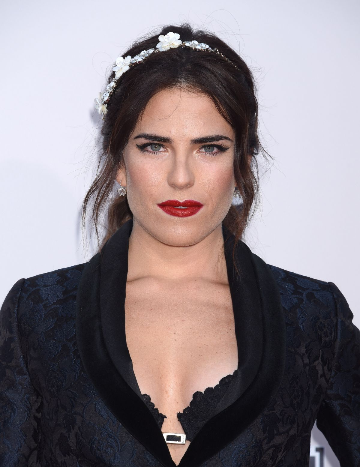 KARLA SOUZA at 2015 American Music Awards in Los Angeles 11/22/15