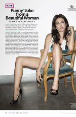 KARLA SOUZA in Esquire Magazine, December 2015/January 2016 Issue