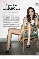 KARLA SOUZA in Esquire Magazine, December 2015/January 2016 Issue