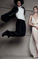 KARLIE KLOSS by Patrick Demarchelier for Vogue Magazine, December 2015 Issue