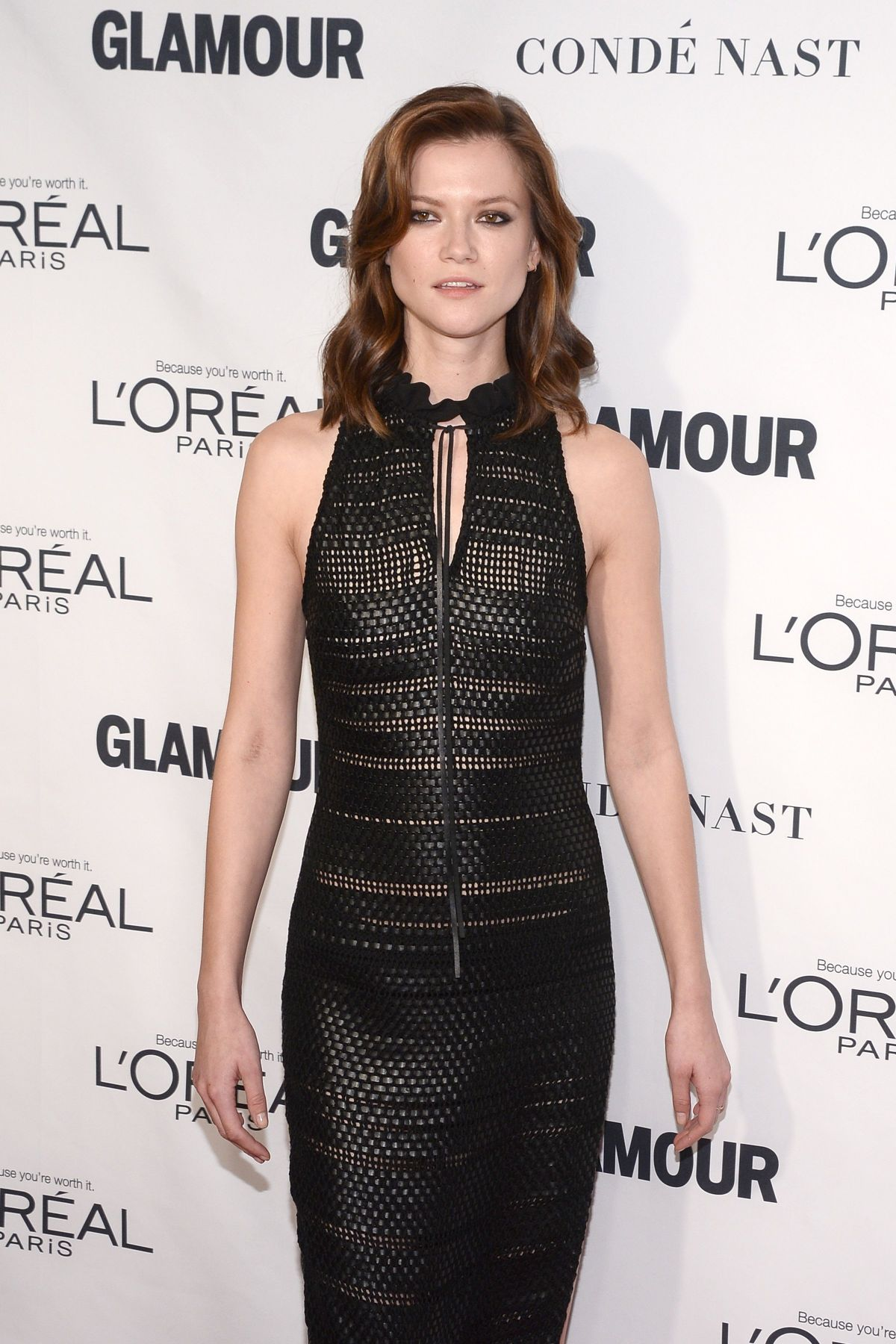 KASIA STRUSS at Glamour's 25th Anniversary Women of the Year Awards in New York 11/09/2015