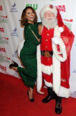 KAT GRAHAM at 2015 Hollywood Christmas Parade in Hollywood 11/29/2015