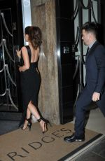 KATE BECKINSALE Arrives at Her Hotel in London 11/24/2015