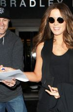 KATE BECKINSALE Arrives at LAX Airport in Los Angeles 11/02/2015