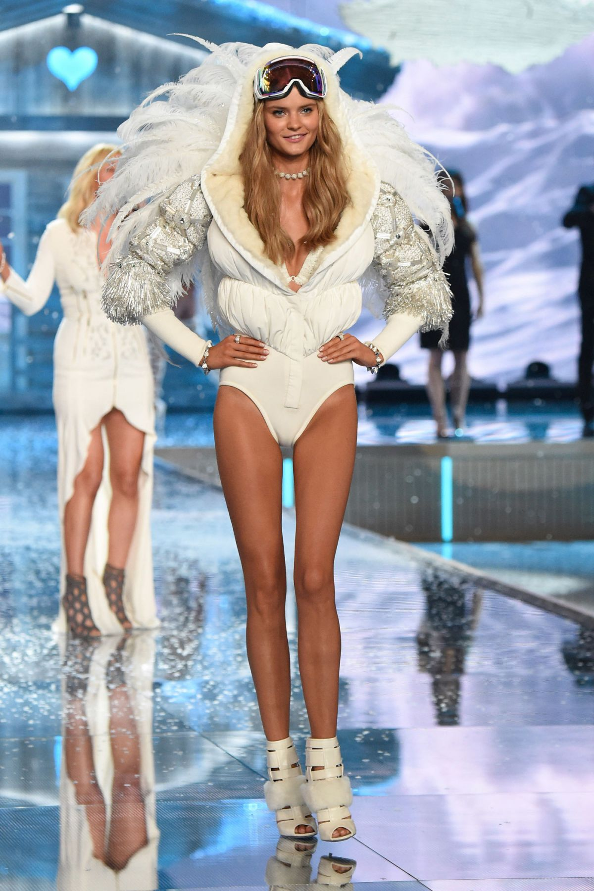 KATE GRIGORIEVA at Victoria's Secret 2015 Fashion Show in New York 11/10/2015