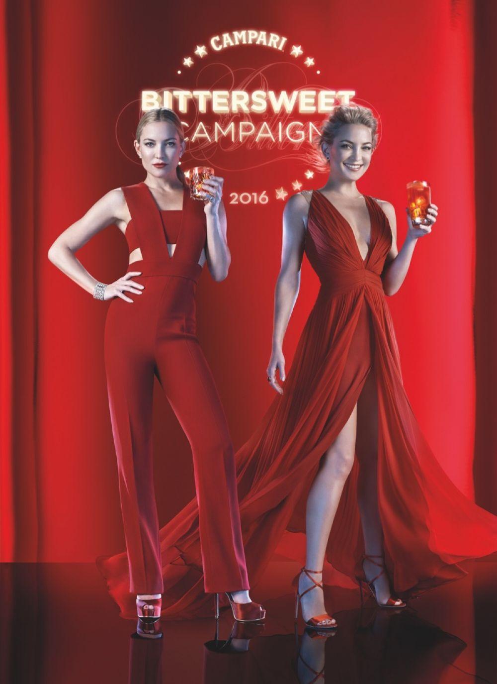 KATE HUDSON in Campari Calendar 2016